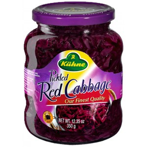 Pickled Red Cabbage - 12 x 350g