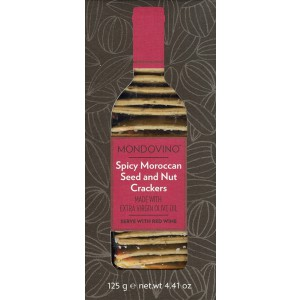 Spicy Moroccan Seed & Nut Crackers - 12 x 125g
